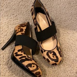 Gianni Bini Cheetah Print Pumps